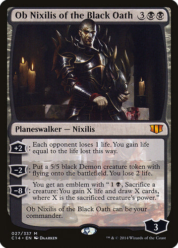 Ob Nixilis of the Black Oath - Commander 2014