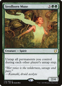 Seedborn Muse - Commander 2019
