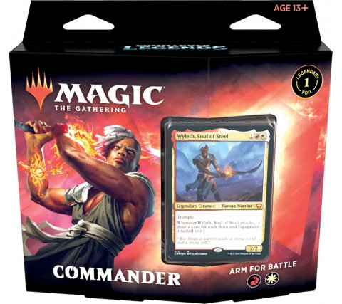 Arm for Battle Commander Deck - Commander Legends