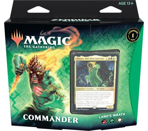 Land's Wrath Commander Deck - Zendikar Rising