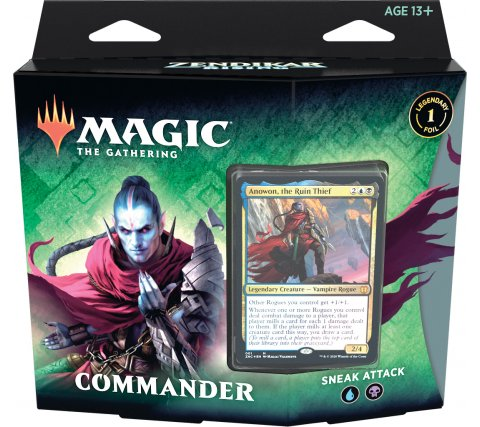 Sneak Attack Commander Deck - Zendikar Rising