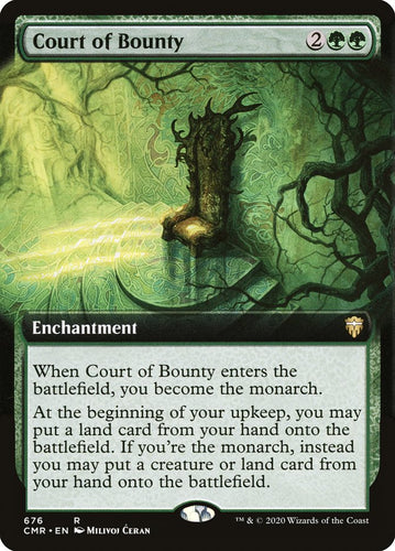 Court of Bounty - [FOIL, Extended Art] Commander Legends