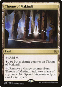 Throne of Makindi - Zendikar Rising