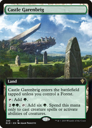 Castle Garenbrig - [Extended Art] Throne of Eldraine
