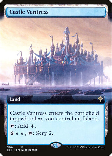 Castle Vantress - [Extended Art] Throne of Eldraine