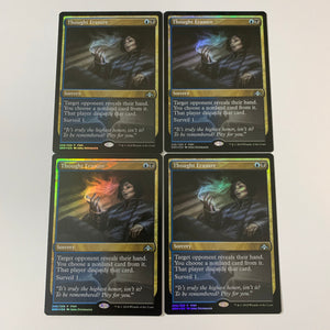 4x Thought Erasure - [FOIL] FNM Promo