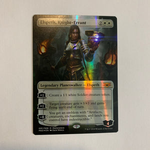 Elspeth, Knight-Errant - [FOIL] Mythic Edition: Guilds of Ravnica