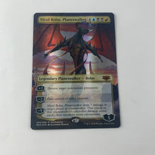 Load image into Gallery viewer, Nicol Bolas, Planeswalker - [FOIL, Borderless] Mythic Edition: Guilds of Ravnica