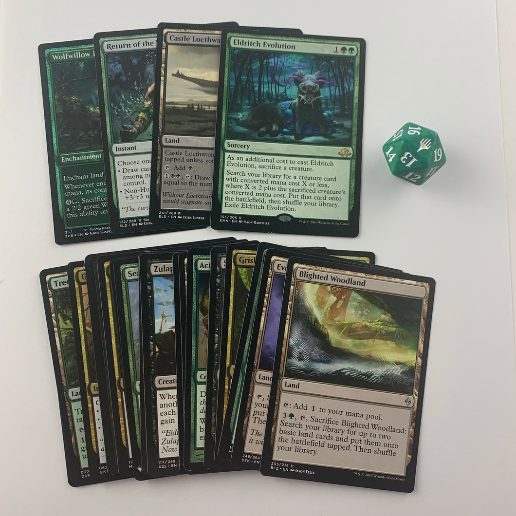 Commander Booster Pack - Golgari (Green & Black)