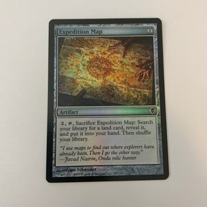 Expedition Map - [FOIL] Zendikar