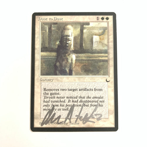 Dust to Dust - [Signed by Drew Tucker] The Dark
