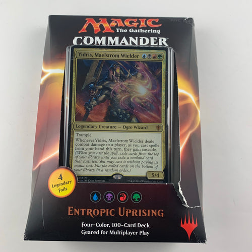 Entropic Uprising (UBRG)- Commander 2016 Deck