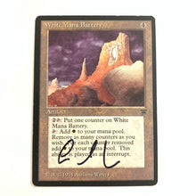 Load image into Gallery viewer, White Mana Battery - [Signed by Anthony Waters] Legends