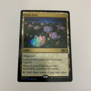 Lotus Field - [FOIL] Core 2020