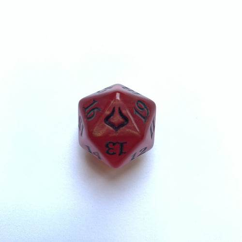 Hour of Devastation Bolas Horns - [Red] Spindown Life Counter Dice D20