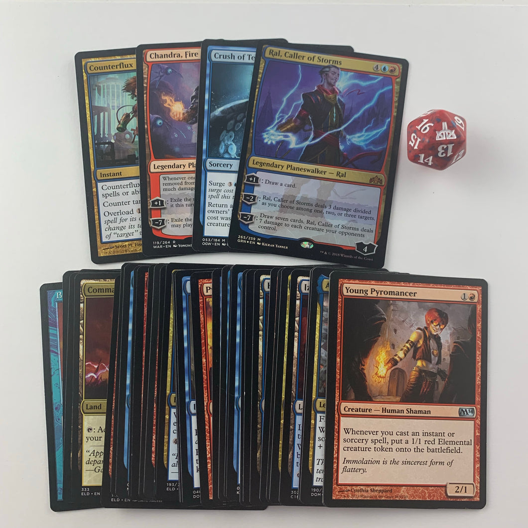 Commander Booster Pack - Izzet (Blue & Red)