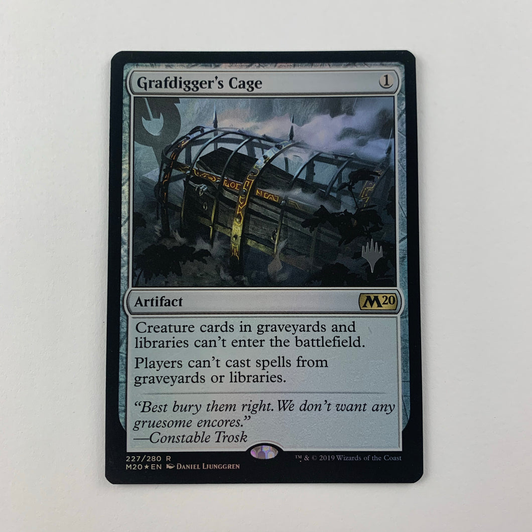 Grafdigger's Cage - [FOIL] Core 2020 Promo Pack
