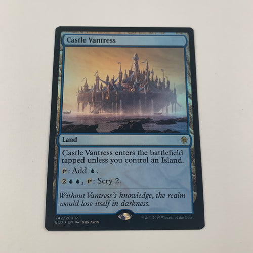 Castle Vantress - [FOIL] Throne of Eldraine