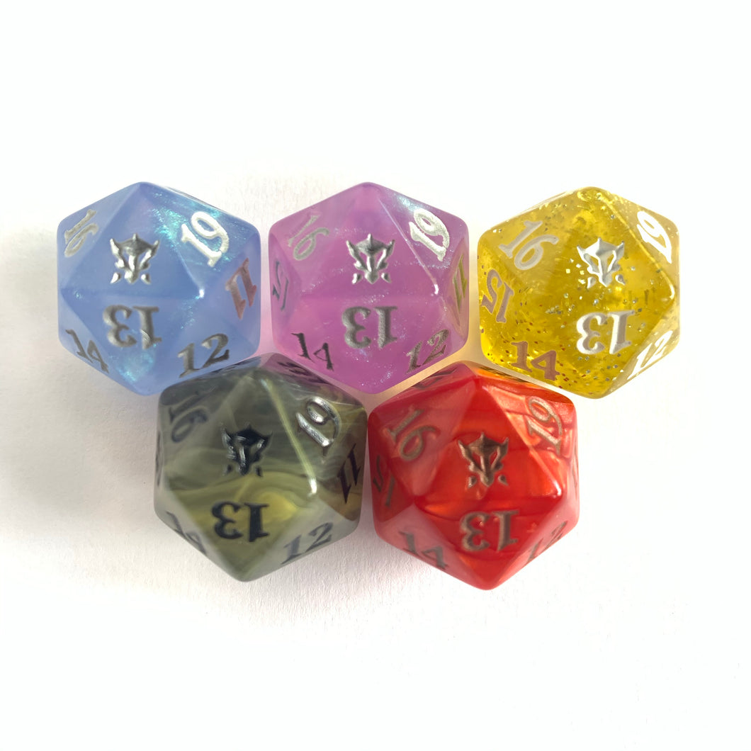 Dragons of Tarkir - [Full Set] Spindown Life Counter Dice D20