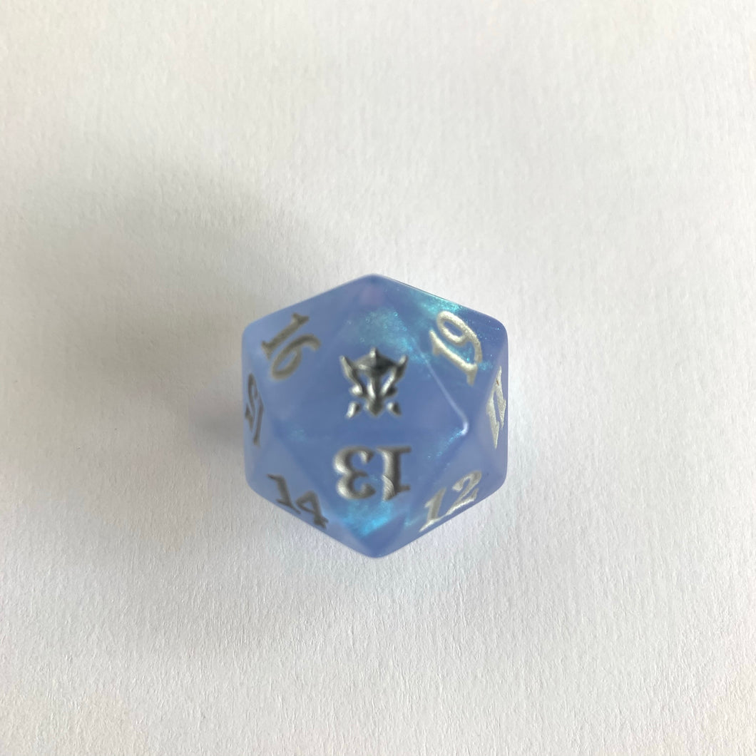 Dragons of Tarkir - [Ojutai, Blue] Spindown Life Counter Dice D20