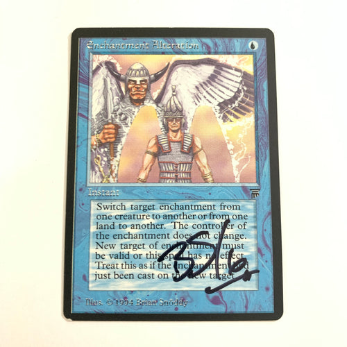 Enchantment Alteration - [Signed by Brian Snoddy] Legends