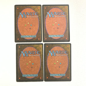 4x Disenchant - [Mixed Language, Playset] Revised 3rd Edition FBB