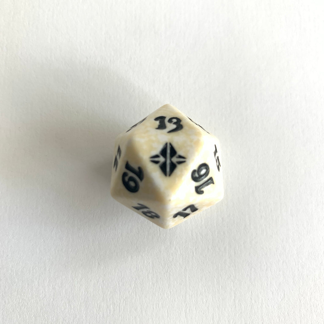 Rise of the Eldrazi - [White] Spindown Life Counter Dice D20