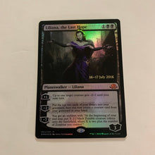 Load image into Gallery viewer, Liliana, the Last Hope - [FOIL] Prerelease Promo