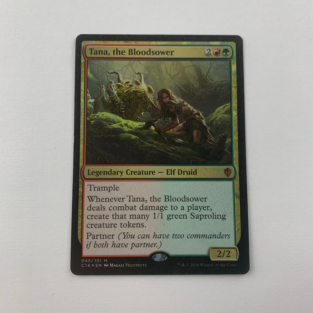 Tana, the Bloodsower - [FOIL] Commander 2016 (MP)