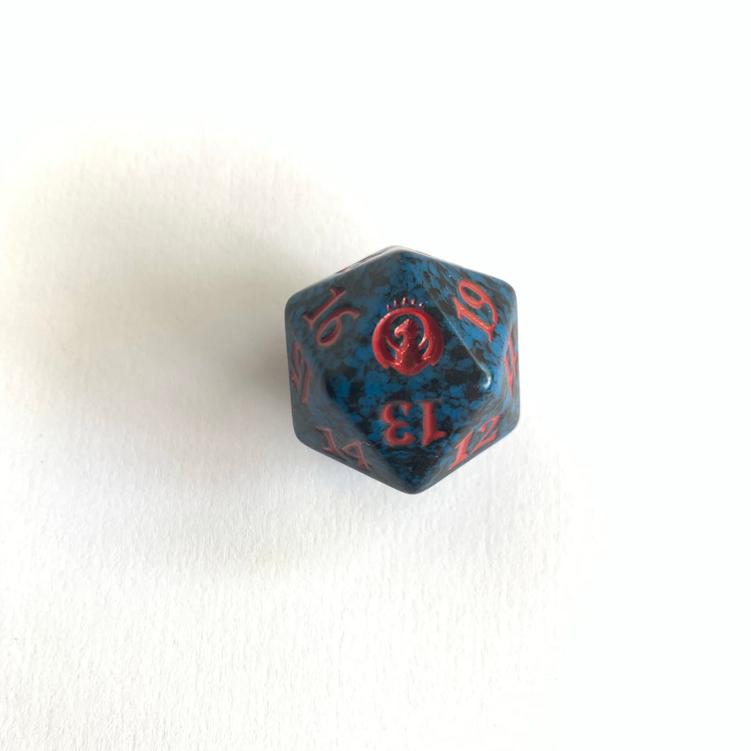 Guilds of Ravnica - [Izzet, Blue] Spindown Life Counter Dice D20