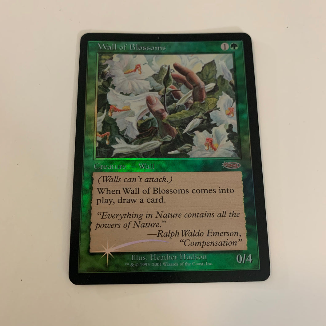 Wall of Blossoms - [FOIL] FNM Promos
