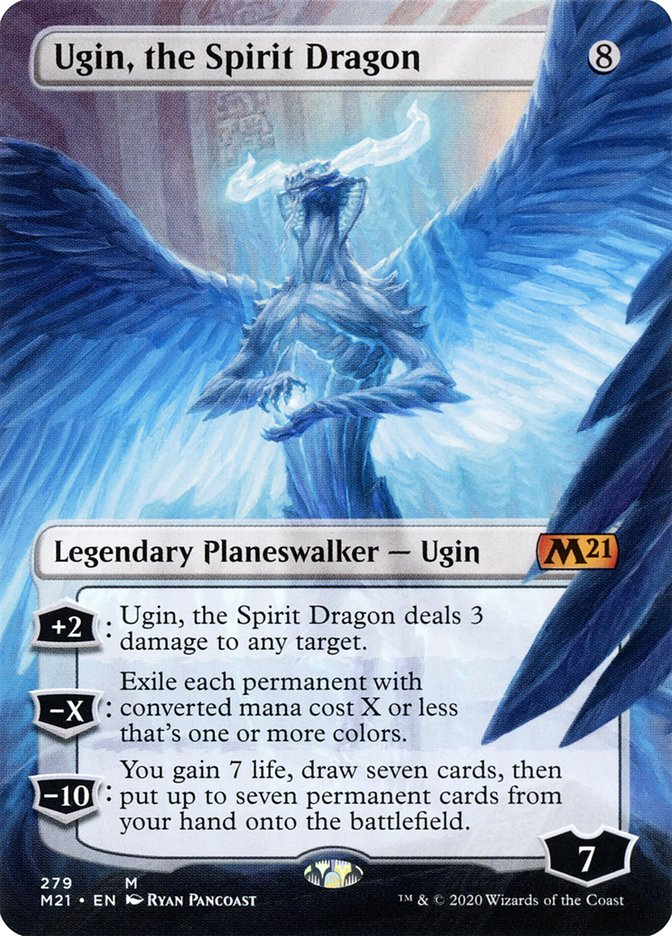 Ugin, the Spirit Dragon - [Borderless] Core 2021