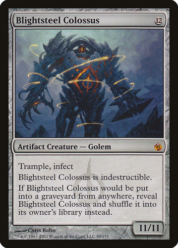Blightsteel Colossus - Mirrodin Besieged (MBS)