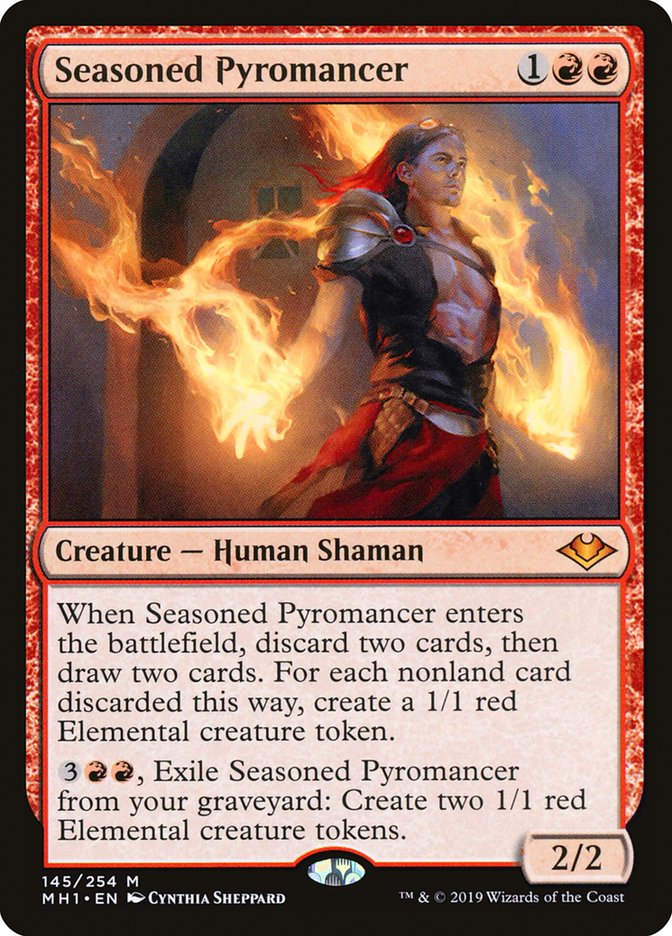 Seasoned Pyromancer - Modern Horizons
