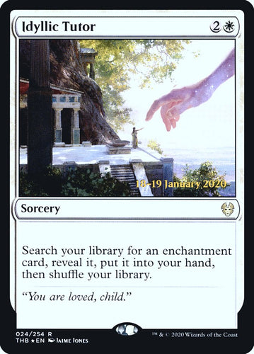 Idyllic Tutor - [FOIL, Prerelease Promo] Theros Beyond Death