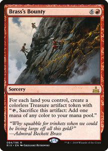 Brass's Bounty - Rivals of Ixalan