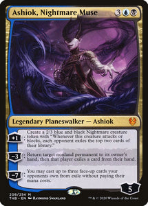 Ashiok, Nightmare Muse - Theros Beyond Death