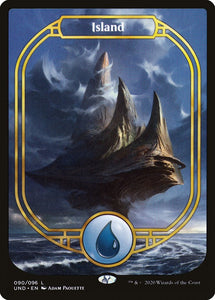 Island - [FOIL, Full Art] Unsanctioned