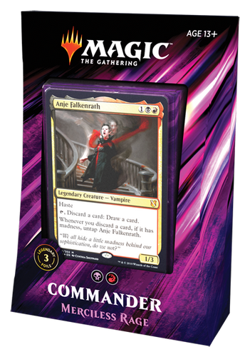 Merciless Rage - Commander 2019 Deck