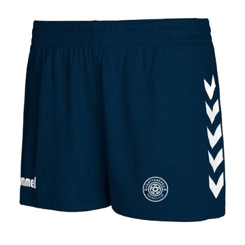 hummel Women's Core Poly Shorts (Navy)