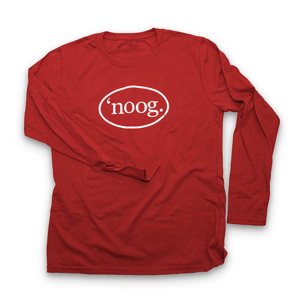 Noog Oval Long Sleeve - Cardinal Red - Women