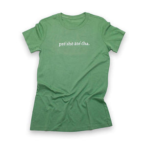 SALE - Pre-She-Ate-Cha - Heather Green - Women