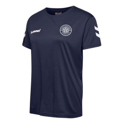hummel Women's Core Poly T-Shirt (Navy)
