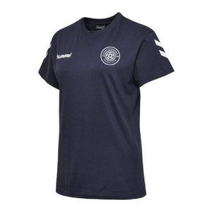 hummel Women's Cotton T-Shirt (Navy)