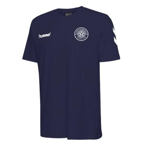hummel Cotton T-Shirt (Navy)