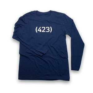 (423) Long Sleeve - Navy
