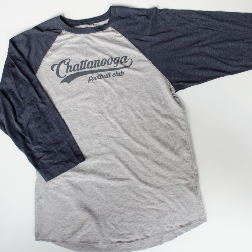 "3/4 Sleeve ""Baseball"" (Grey)"