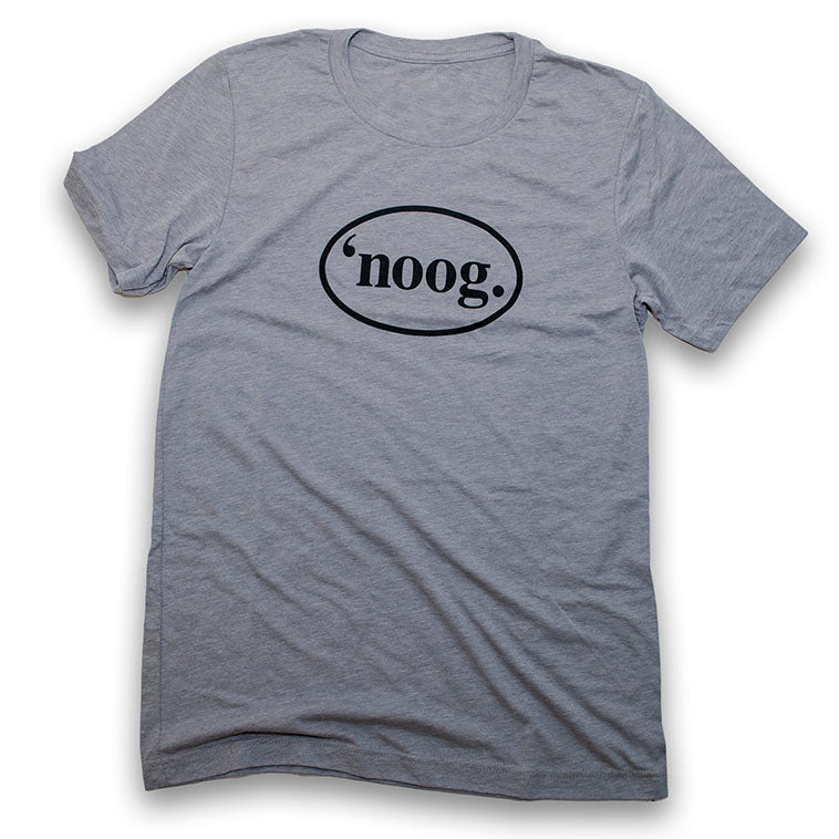 Noog Oval - Athletic Gray Triblend