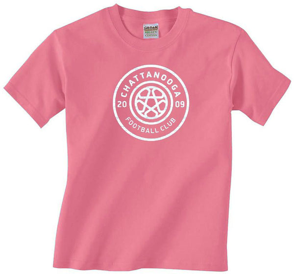 Antiqued Logo T-shirt (Azalea)