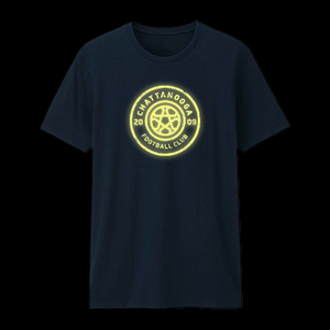 Glow In The Dark Youth T-shirt (Navy)